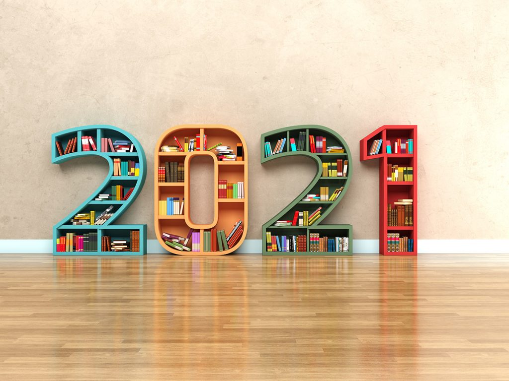 2021 Bookshelves Books